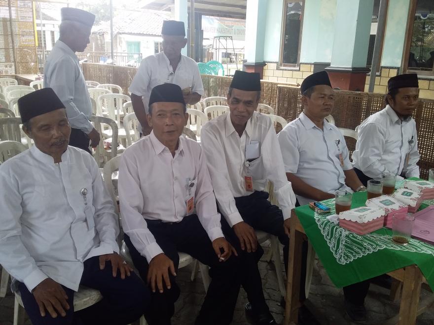 Image : Penyampaian Visi dan Misi Calon Kepala Desa Tanjung Tahun 2019